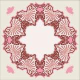 Vector Victoriaans uitstekend hart vector illustratie