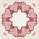 Vector Victorian vintage heart Stock Images
