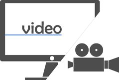 Vector - video Stock Images