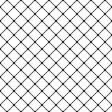 Vector vierkant net geometrisch naadloos patroon Donker modern ontwerp voor decoratie, drukken, Web stock illustratie