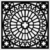Vector vierkant ornament royalty-vrije illustratie