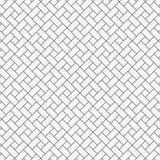 Vector vierkante de diamantvorm van het patroonontwerp het herhalen met het witte hellingsblokken betegelen De bakstenen van de v vector illustratie