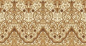 Vector vintage arabic pattern Stock Image