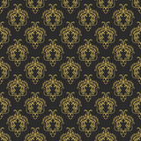 Vector vintage arabic pattern Royalty Free Stock Photography