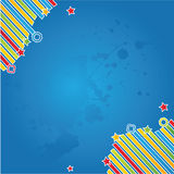 Vector vintage background. With modern details Royalty Free Stock Images