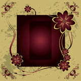 Vector vintage background Stock Photos