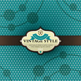 Vector vintage background Royalty Free Stock Photography