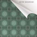 Vector vintage background Stock Photography