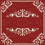 Vector vintage background Stock Image
