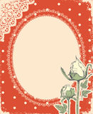 Vector vintage background with vintage Stock Images