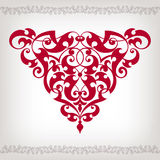 Vector vintage Baroque frame corner  ornate Royalty Free Stock Photos