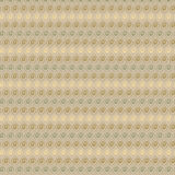 Vector vintage beige and brown geometric pop design as wallpaper Stock Image