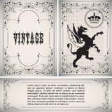 Vector Vintage Border Stock Photography