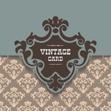 Vector vintage border frame. This is file of EPS10 format Royalty Free Illustration