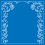 Vector vintage border frame Royalty Free Stock Image