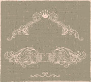 Vector vintage border Royalty Free Stock Photography