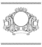 Vector vintage border Stock Photo