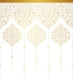 Vector vintage borders in Eastern style. Stock Images