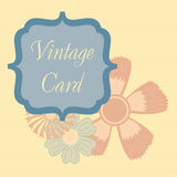Vintage card Royalty Free Stock Photos