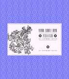 Vector vintage card with lilac flower. Vector vintage card with lilac on luxury violet background. Template for spa promotion, flower shop gift card, soap Royalty Free Stock Image
