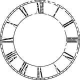 Vector vintage clock vector illustration