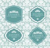 Vector vintage collection: Baroque and antique frames, labels, emblems and ornamental design elements. Royalty Free Stock Images