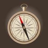 Vector vintage compass Stock Photos