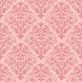Vector vintage damask seamless pattern element Royalty Free Stock Photo