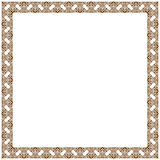 Vector vintage decor frame ornament floral Royalty Free Stock Photo