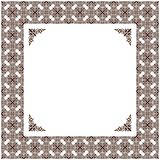 Vector vintage decor frame ornament retro Stock Photo
