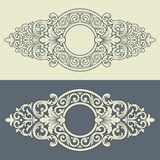 Vector vintage decorative frame pattern design royalty free illustration