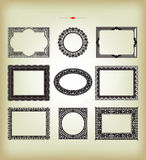 Vector vintage design elements Stock Photography