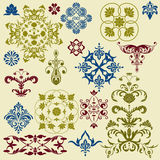 Vector  vintage  design elements Royalty Free Stock Photos