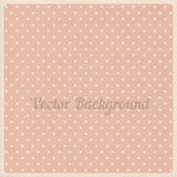 Vector vintage dotted background Royalty Free Stock Photos