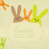 Vector vintage easter background Royalty Free Stock Photos