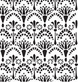 Vector vintage Egyptian ornament floral pattern Stock Photo