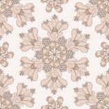 Vector vintage ethnic pattern Royalty Free Stock Photography