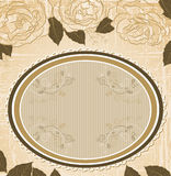 Vector Vintage floral background. Vector abstract Vintage floral background Royalty Free Stock Image