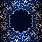 Vector vintage ornamental background. Royalty Free Stock Photography