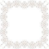 Vector vintage floral frame stock images