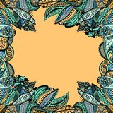 Vector vintage floral pattern Royalty Free Stock Images