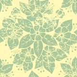 Vector vintage floral seamless pattern element. Stock Photos
