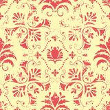 Vector vintage floral seamless pattern element. Stock Image