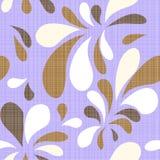 Vector vintage floral seamless pattern element royalty free illustration