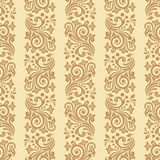 Vector vintage floral seamless pattern element Royalty Free Stock Image
