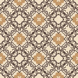 Vector vintage flowers pattern. retro seamless texture Stock Photography