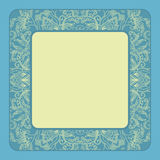 Vector vintage frame. Stock Photography