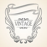 Vector Vintage frame Royalty Free Stock Images