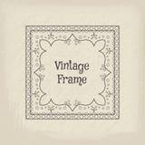 Vector vintage frame Stock Photo