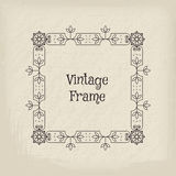 Vector vintage frame Royalty Free Stock Image